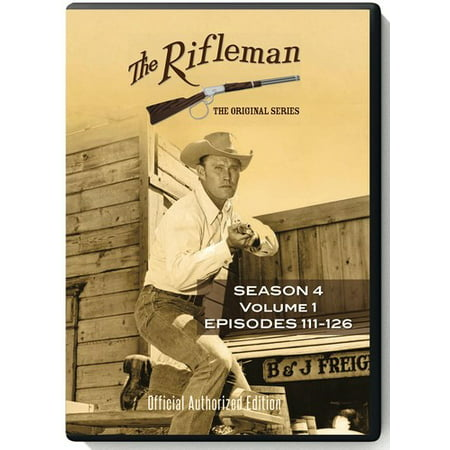 The Rifleman: Season 4 Volume 1 (Episodes 111 - 126) (DVD) - The Office Halloween Episodes 2017