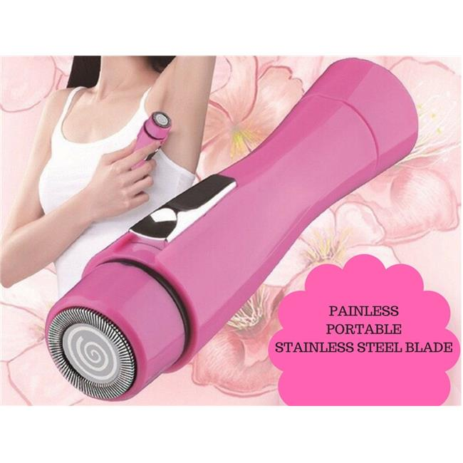 Youphorea FMHR-317 Flawless Mini Hair Remover for Face, Legs & Under Arms - Light Pink