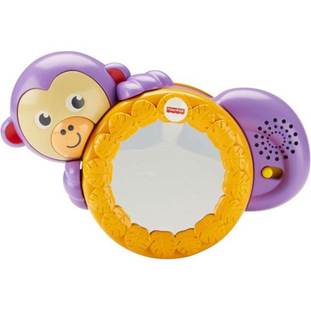 Fisher Price Baby Toy - Fisher-Price 1-2-3 Crawl Along Monkey