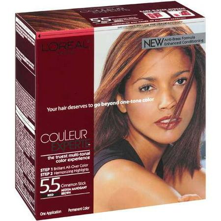 Color Sensation 5 Medium Mahogany Brown