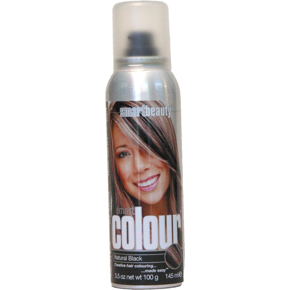 natural black temporary hair color spray walmart