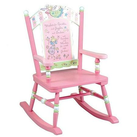 Wildkin Wildkin Kids Fairy Wishes Rocking Chair - Rocker Child