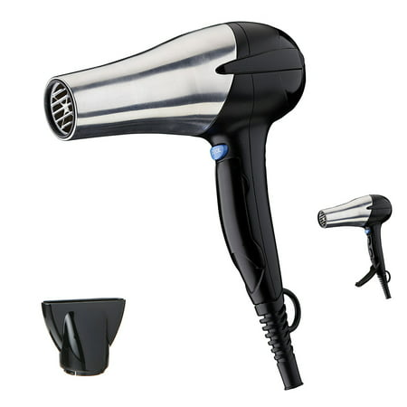 Infiniti Pro by Conair 1875 Watt Aluminum AC Motor Styling Tool / Hair Dryer with Switch Cover in Chrome and (Conair Infiniti Pro 1875w Ac Motor Dryer)