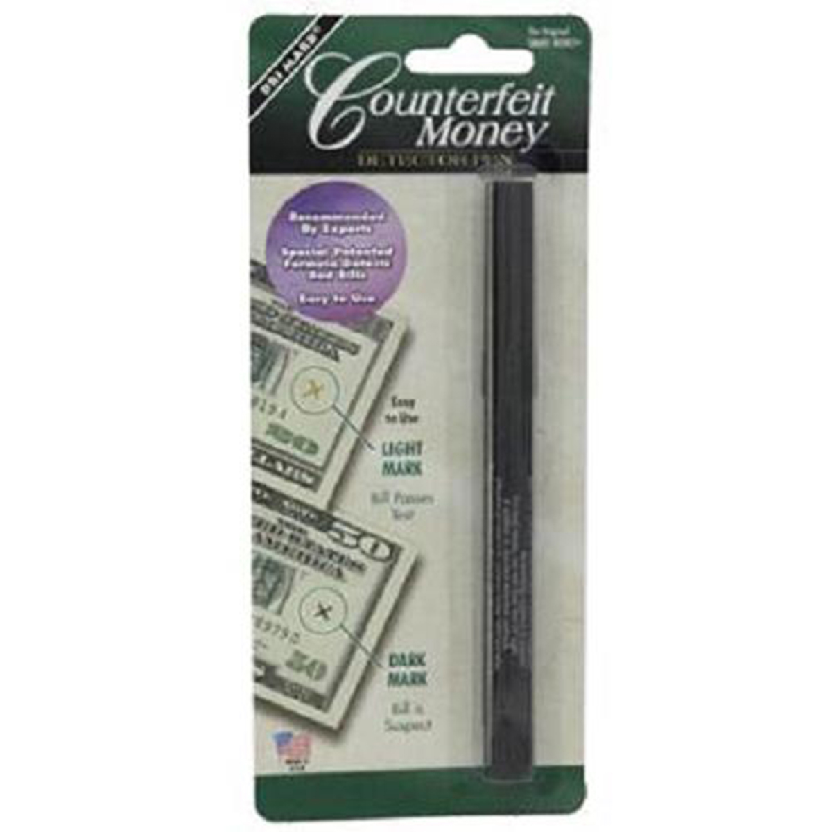 MMF Industries Counterfeit Money Detector Pen