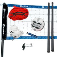 Deals on MD Sports Regulation Size Volleyball Set 32-ft x 3-ft Net