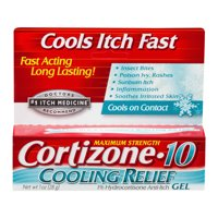 Cortizone 10 Cooling Relief Gel 1oz