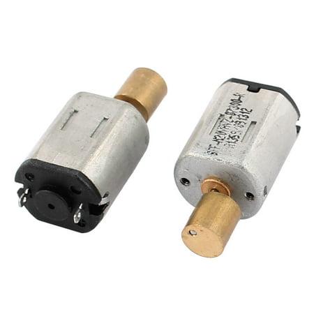 2Pcs DC 12V 24V 140 280RPM High Torque 6mm Dia Electrical Low Speed Solder
