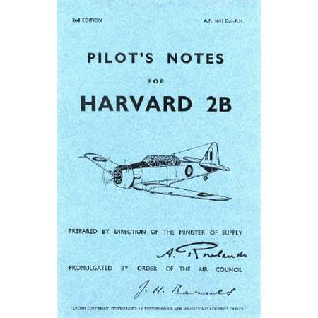 North American Harvard Iib - Pilot's Note - Op