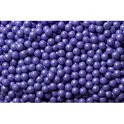 National Cake Supply Shimmer Lavender Edible Candy Pearls - 4 oz