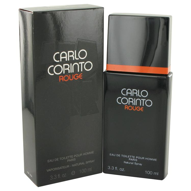 CARLO CORINTO ROUGE by Carlo Corinto Eau De Toilette Spray 3.4 oz for Men