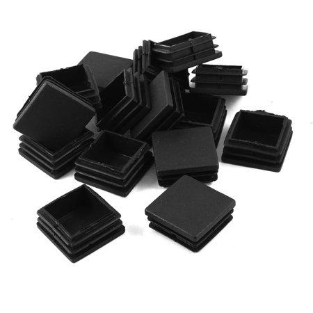 Unique Bargains 38mm x 38mm Furniture Fittings Black Plastic