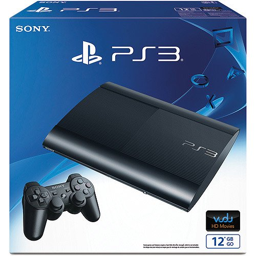PlayStation 3 12GB Gaming Console, Walmart Exclusive, Black, CECH-4301A