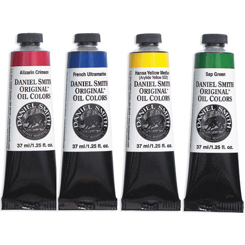 Daniel Smith - Original Oil Color - Yellow Ochre Light