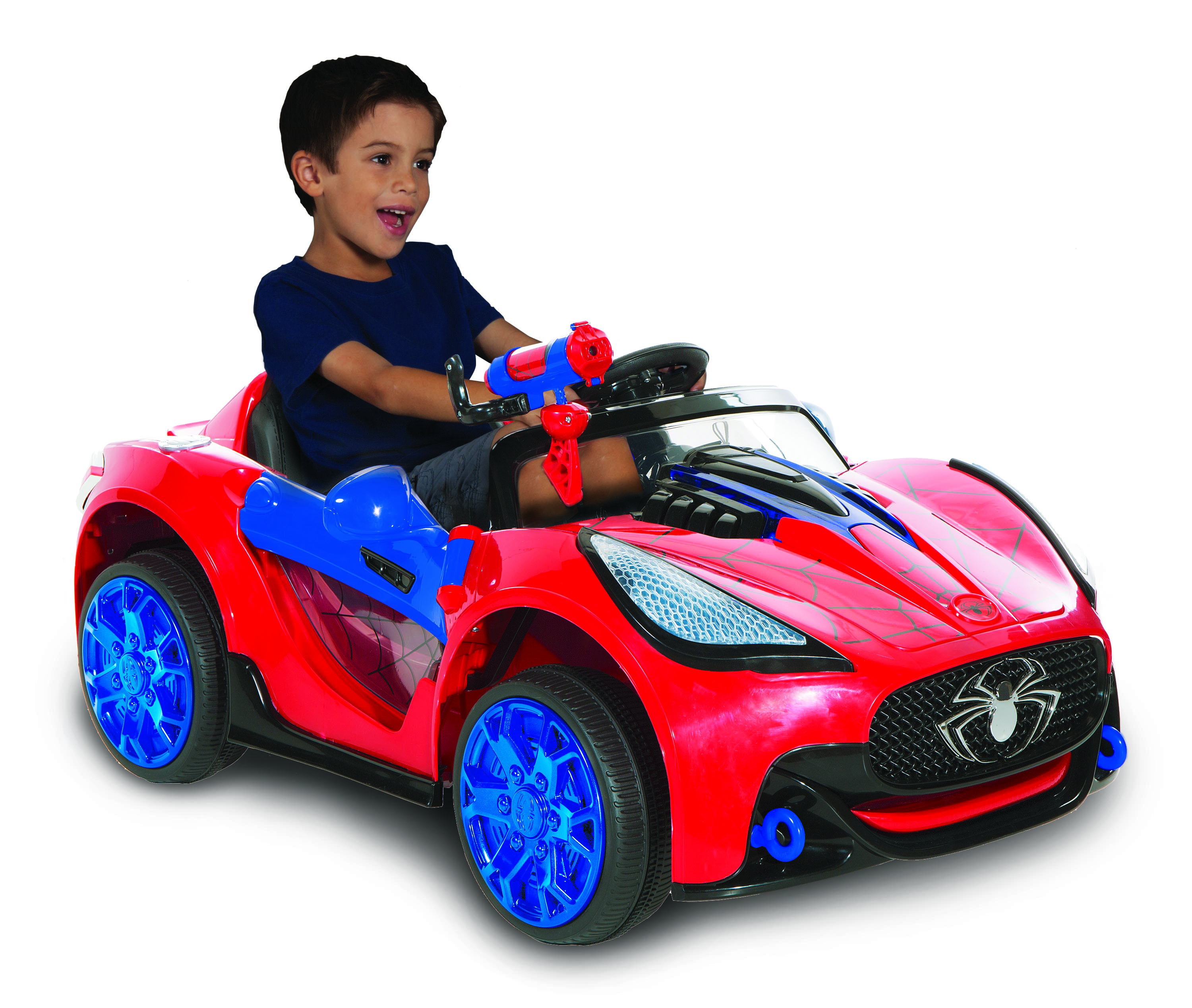 Spiderman-marvel 6 Volt Spider-man Super Car for Kids