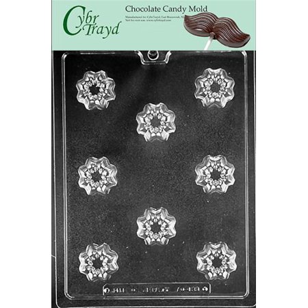 Cybrtrayd Life of the Party AO133 Decorative Filled Piece All Occasions Chocolate Candy Mold in Sealed Protective Poly Bag Imprinted with Copyrighted Cybrtrayd Molding (3 Piece Poly Carbon)