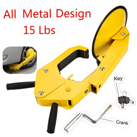 Trailer Anti Theft - Heavy Duty  Anti Theft Trailer Lock Car Wheel Lock Clamp Disc Security Safety Lock