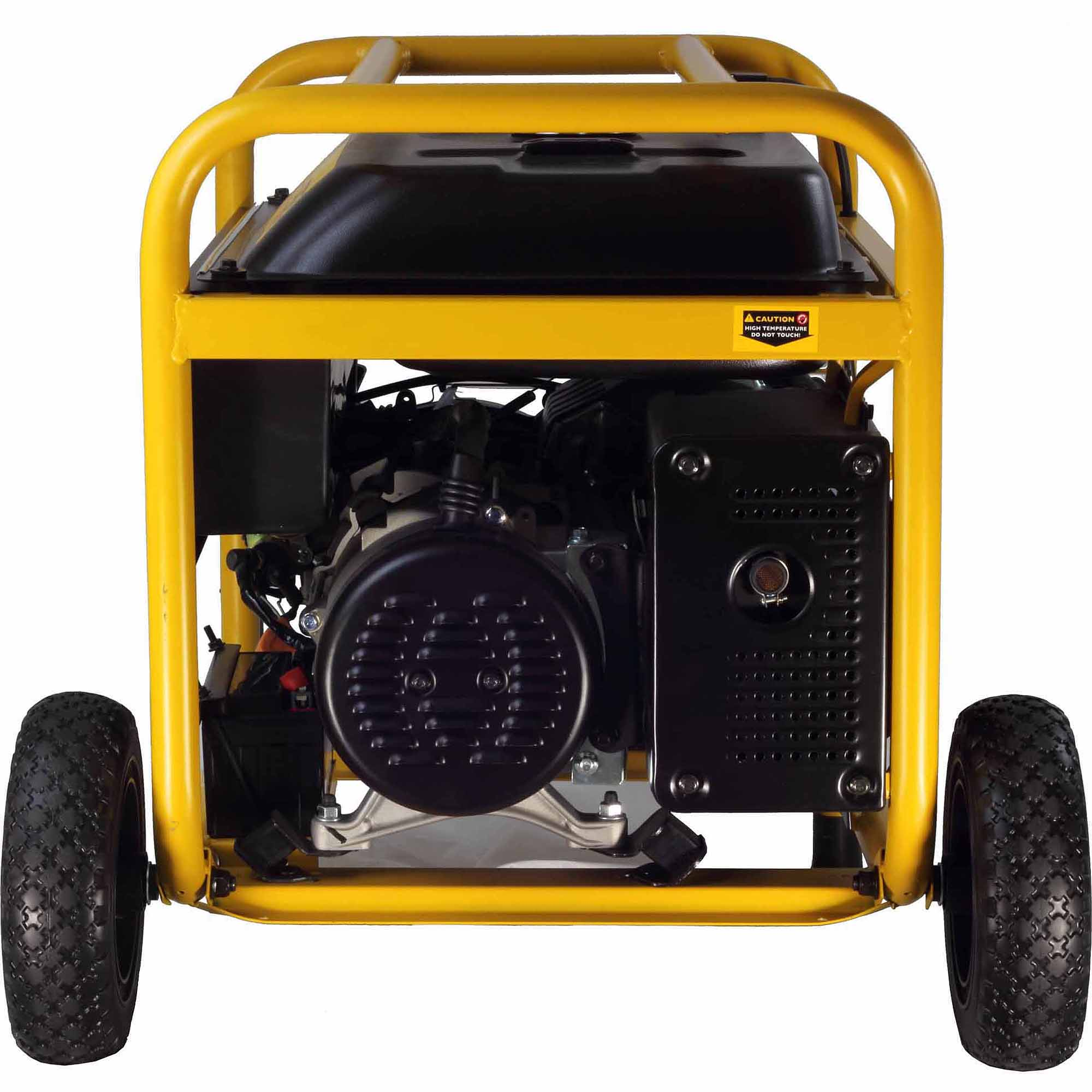 Manual start generac generator