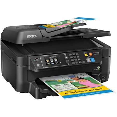 Refurbished Epson WF-2760 WorkForce All-in-One Wireless Color Printer