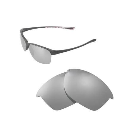 6c987b954a Walleva - Walleva Titanium Polarized Replacement Lenses for Oakley  Unstoppable Sunglasses - Walmart.com
