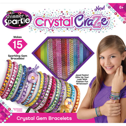Cra-Z-Art Crystal Craze Gem Bracelet by Generic