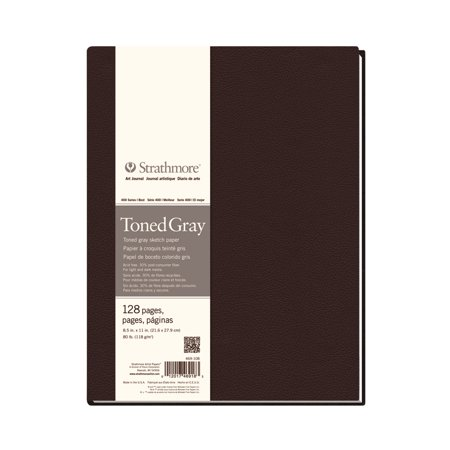 - Strathmore Toned Hardbound Art Book, 400 Series, 8.5