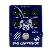 Best Compressor Pedals - Caline CP-45 Pressure Point Bass Compressor Pedal True Review