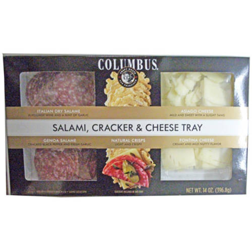 Columbus Salame Cheese Cracker Tray