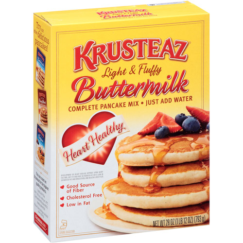 Krusteaz Heart Healthy Buttermilk Complete Pancake Mix, 28 oz