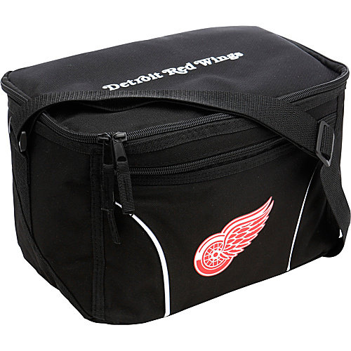 Detroit Red Wings Official NHL 12 inch  x 8 inch  x 7 inch  Chill Insulated Lunch Box Lunchbox Bag by Concept One