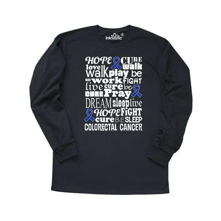 Inktastic Colorectal Cancer Awareness Colon Cancer Long Sleeve T Shirt Walmart Com