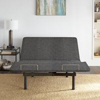 Premier Zero Clearance Adjustable Upholstered Bed Base Frame with Wireless Remote, Multiple Sizes