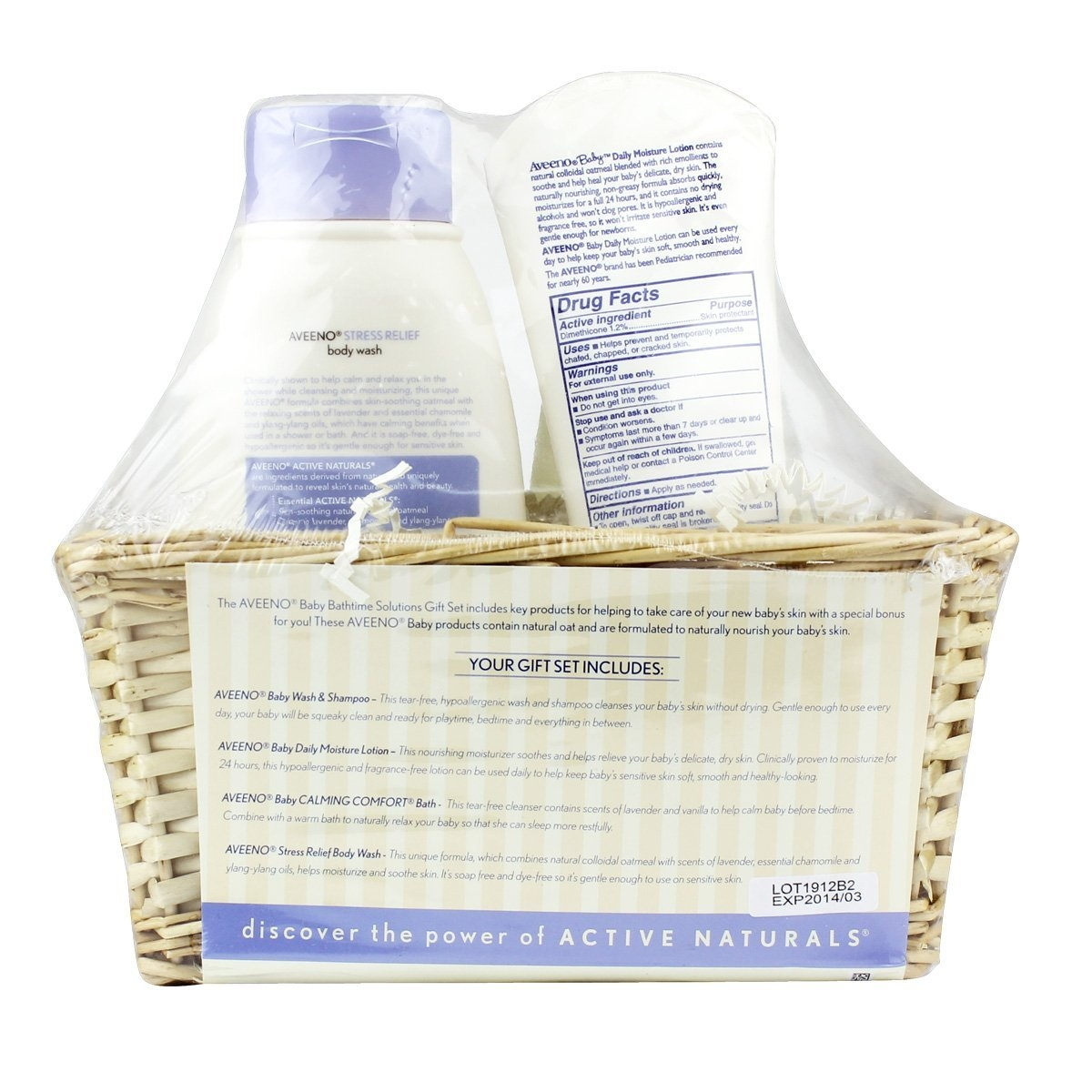 Aveeno Baby Daily Bath Time Solutions Gift Set To Prevent...