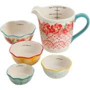 The Pioneer Woman Flea Market 5-Piece Prep Set, Measuring Bowls & Cup