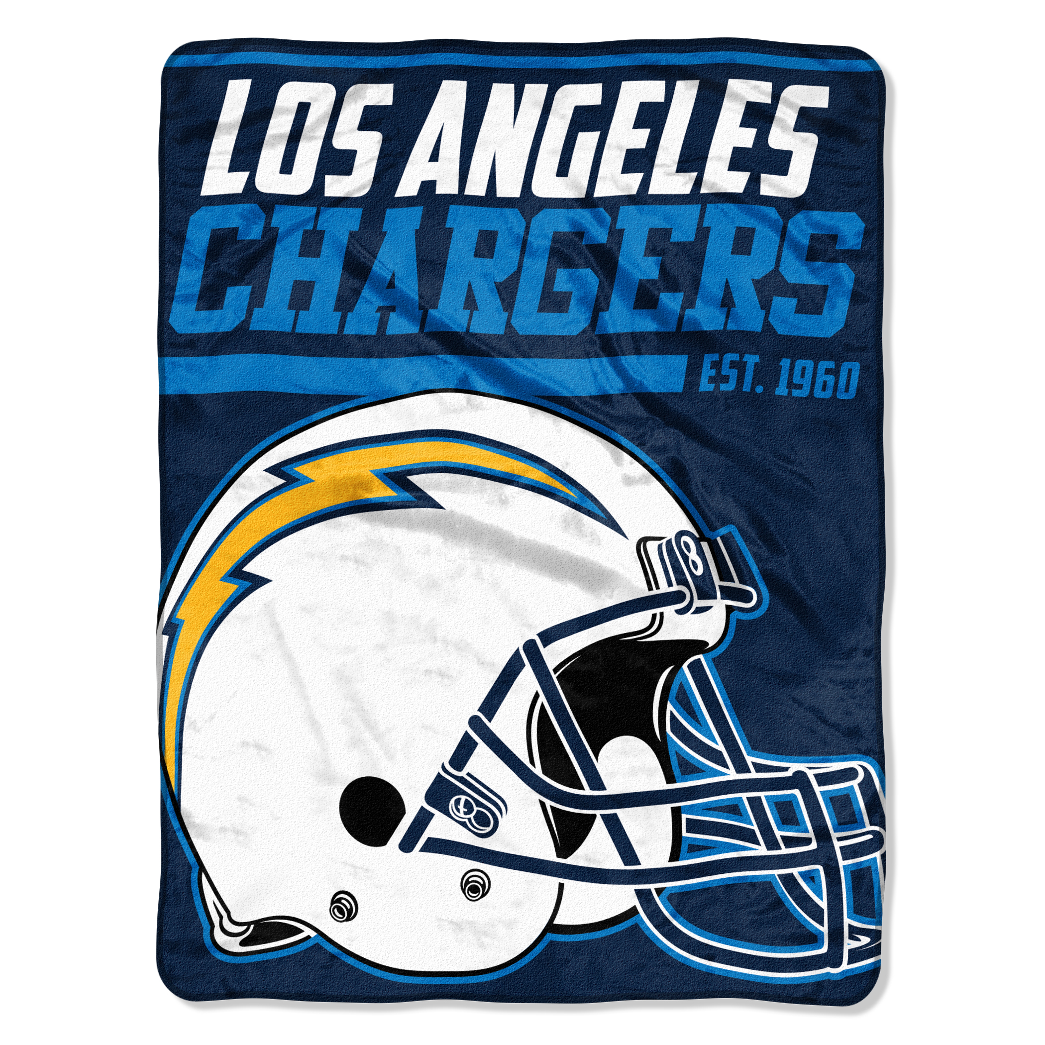 "NFL Los Angeles Chargers ""40-Yard Dash"" 46""x 60"" Micro Raschel Throw"