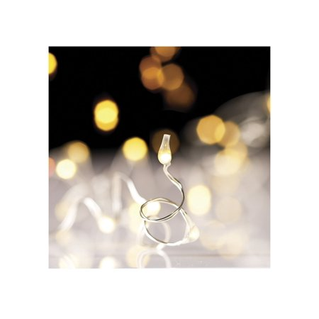 Discount Christmas Catalogs (- 20' String Light Garland with Convertible Battery Box, White 60Lights Made of Wire Measures 20' Catalog (Christmas 2015) on Page 91 Requires 3 AA Batteries.., By RAZ Imports from)