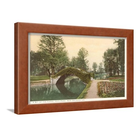 City Park, New Orleans, Louisiana Framed Print Wall Art - City Park New Orleans Halloween