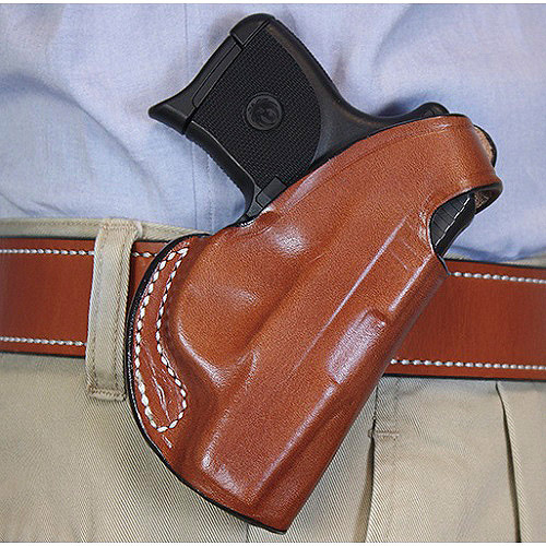 DeSantis Right Hand Black Quick Snap Holster, S&W Bodyguard 380