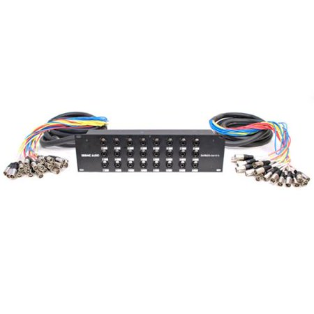 Seismic Audio XLR TRS Rack Splitter Snake Cable - 16, 24, 32 Channel - 15