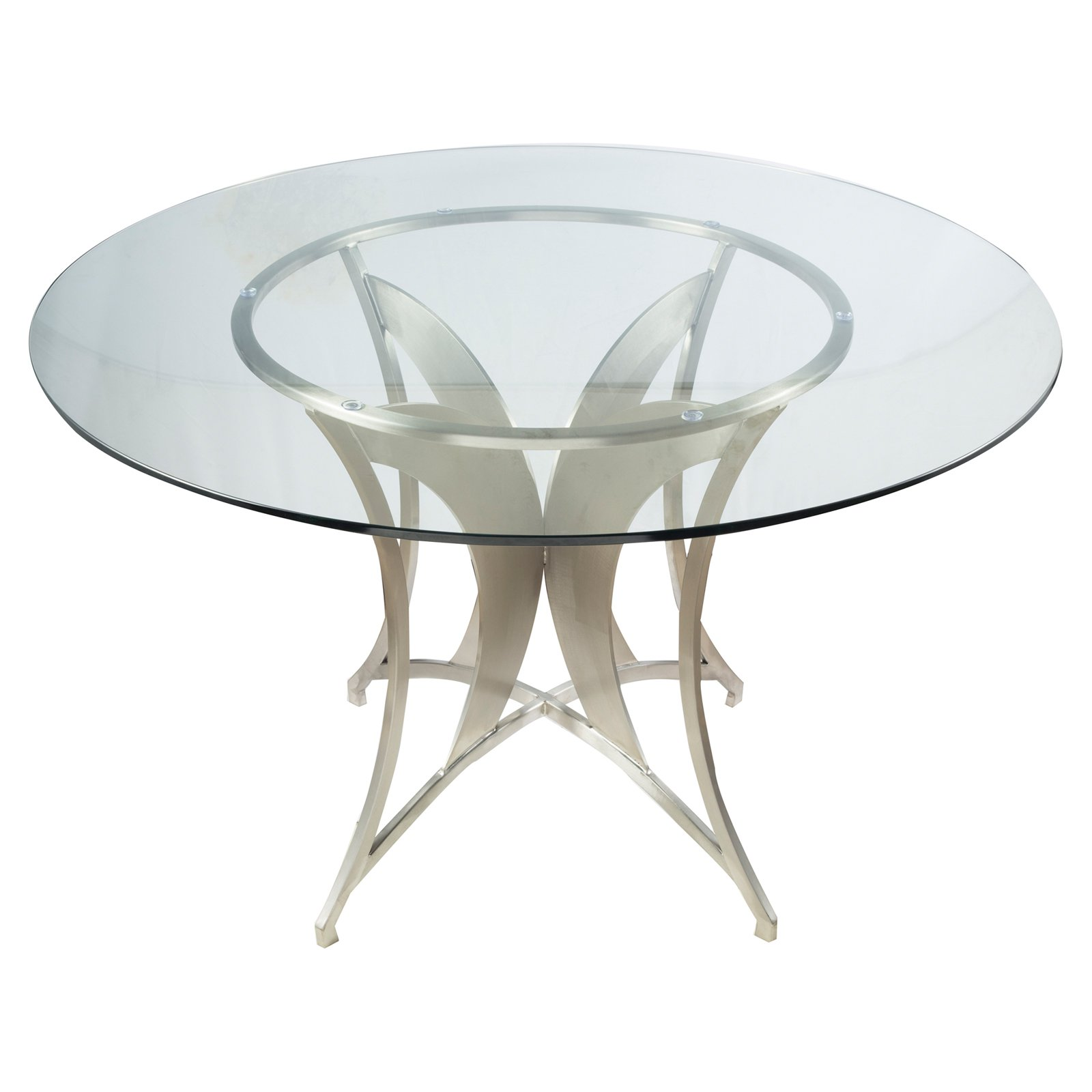 Armen Living Drake Round Dining Table