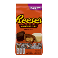 Reese's Miniature Peanut Butter Cups Candy Assortment Party Pack, 32.1 Oz.