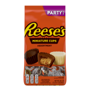 Reese's, Miniatures Peanut Butter Assortment Party Bag, 32.1 Oz.