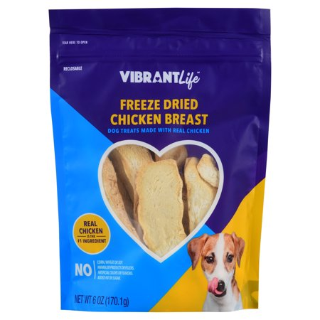 Vibrant Life Freeze Dried Chicken Breast, 6 - Chicken Life