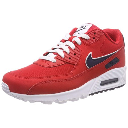 d20a5894922 Nike - Nike AJ1285-601  Mens Air Max 90 Essential Gym Red White Sneakers  (10 D(M) US Men) - Walmart.com