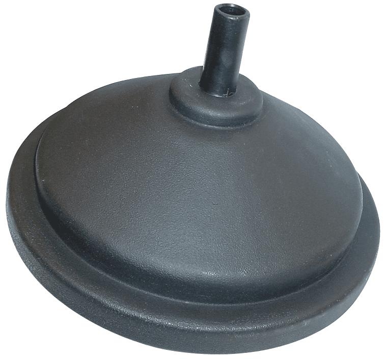 "14"" Diameter Polypropylene Oil Drain Funnel"