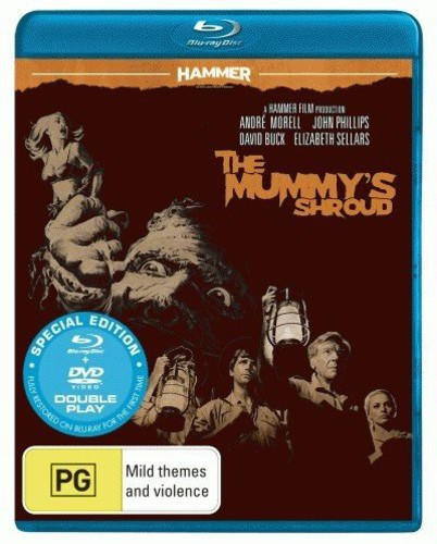 Hammer Horror-The Mummy's Shroud (Blu-ray) by PID