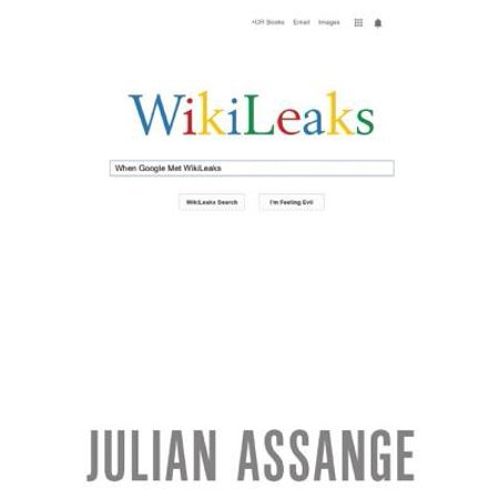 When Google Met Wikileaks - Julian Assange Halloween