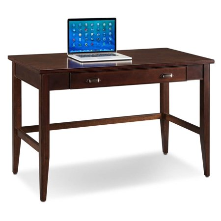 48 in. Writing Desk in Chocolate Cherry Finish
