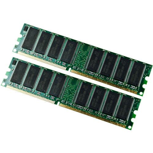 EP Memory 2GB (2 x 1GB) DDR 333MHz PC-2700 DIMM Memory Module Kit, EP333X64C25K2/2G