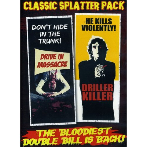 DRIVE-IN MASSACRE/DRILLER KILLER (DVD/CLASSIC SPLATTER PK) (DVD)