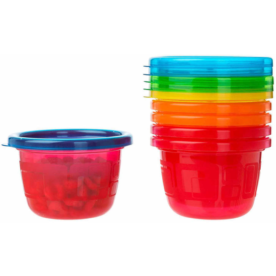 The First Years Take and Toss Snack Cups, 4.5 oz, 6 pack